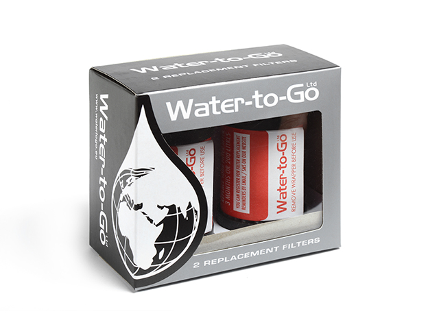 watertogo Filter für 75cl Flaschen